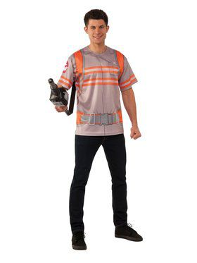Adult Ghostbusters 3 Costume Top and Proton Wand