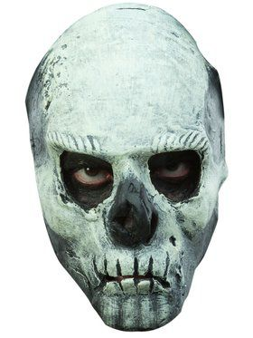 Glow in the Dark Skull Adult Mask