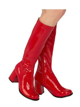 Adult Red GoGo Boot