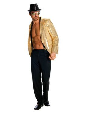 Adult Gold Sequin Jacket