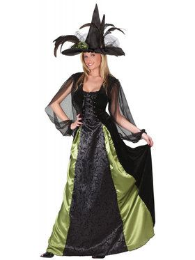 Goth Maiden Witch - Adult Costume