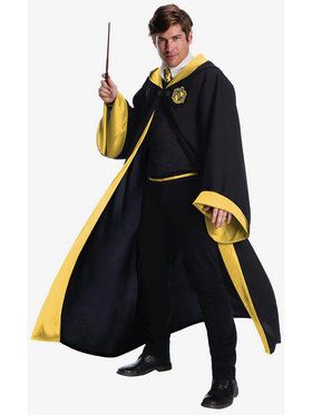 Harry Potter Hufflepuff Student Costume For Adults