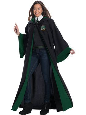 Adult Harry Potter Slytherin Student Costume