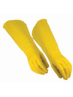 Adult Hero Gauntlet Gloves - Yellow