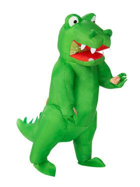 Inflatable Alligator Costume for Adults