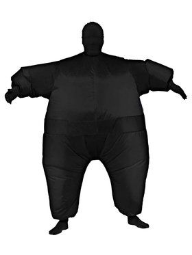 Black Inflatable Adult Jumpsuit