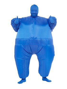 Blue Inflatable Adult Jumpsuit