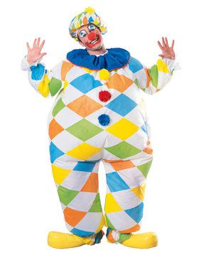 Adult Inflatable Clown Costume
