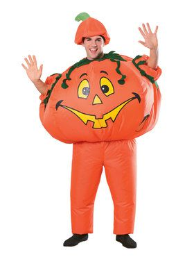Adult Inflatable Pumpkin Costume