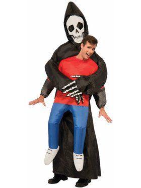 Grim Reaper - Inflatable Costume - for Adults