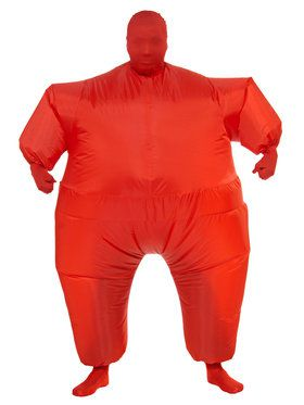 Red Inflatable Adult Jumpsuit