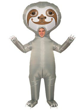 Inflatable Sloth Adult Costume
