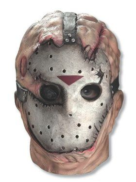 Adult Jason Overhead Latex Mask