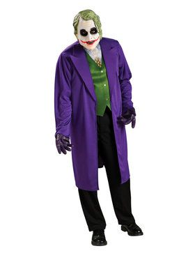 The Dark Knight Trilogy - The Joker Costume - for Adults
