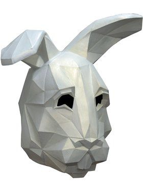 Low Poly Bunny Adult Mask