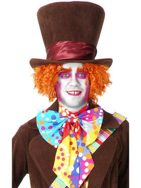 Mad Hatter Costume Wig for Adults