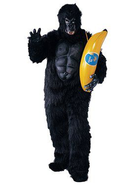 Adult Gorilla with Chest Piece Costume