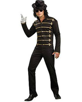 Adult Michael Jackson Military Printed J