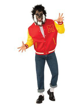 "Adult Michael Jackson Thriller ""Werewolf"" Jacket and Mask Set"