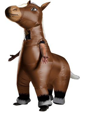 Inflatable Costume - Mr. Horsey - for Adults