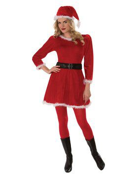 Adult Mrs. Claus Dress