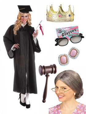 Adult Notorious RBG Supreme Judge Costume Kit