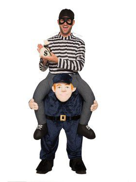 Officer Carry Me Costume for Adults