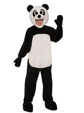 Panda Open Face Costume