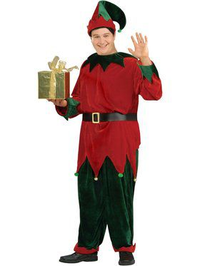 Plus Size Deluxe Santas Helper Costume