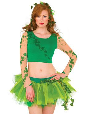 Adult Poison Ivy Crop Top