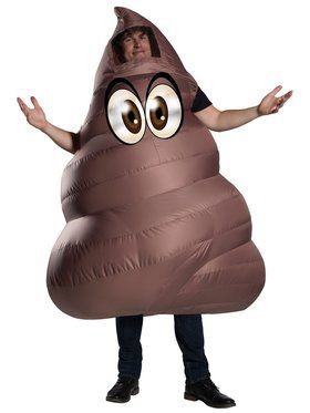 Inflatable Costume - Pile of Poop - for Adults