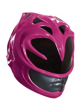 Pink Power Rangers Adult Helmet