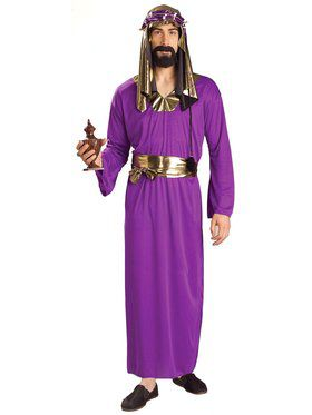 Purple Wiseman Adult Costume