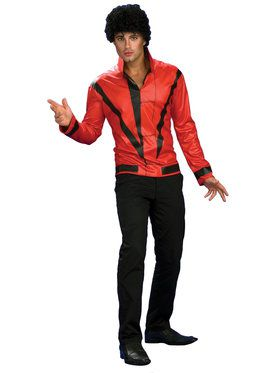 Adult Red Michael Jackson Thriller Jacke