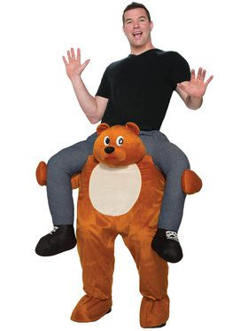 Adult Ride on a Bear Costume