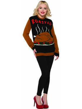 Adult Roasted Thanksgiving Sweater
