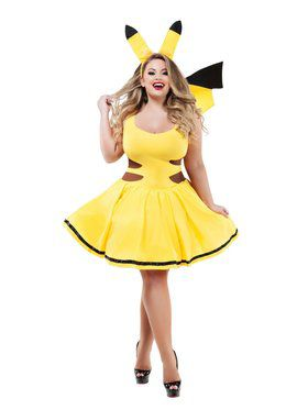 Adult Sassy Plus Catch Me Honey Costume