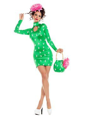 Adult Sassy Prickly Pear Costume