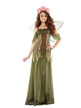 Adult Sassy Rose Fairy Princess Costume