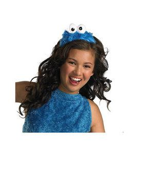 Adult Sesame Street Cookie Monster Headb