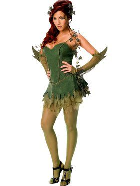 Sexy DC Adult Poison Ivy Costume