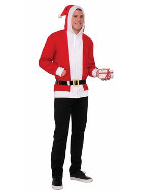 Adult Simply Santa Hoodie with Belt