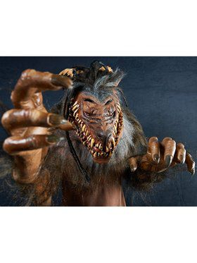Adult Snarling Werewolf Mask
