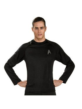 Adult Star Trek Movie Shirt Black