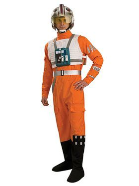 Adult Star Wars X-wing Fighter Pilot Cos