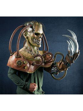 Adult Steampunk Frankenstein Mask