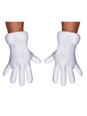 Super Mario Bros Adult Gloves