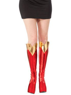 Adult Supergirl Boot Tops