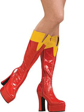 Adult Supergirl Boots