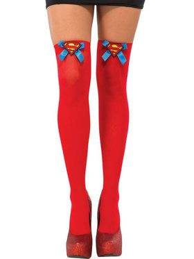 Adult Supergirl Thigh Highs